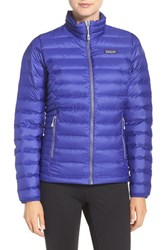 Patagonia Women's Packable Down Sweater Jacket Harvest Moon Blue