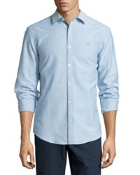 Penguin Slim Fit Oxford Shirt Brittany Blue