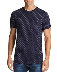 Sovereign Code Gioacchino Medallion Print Tee Navy Cross