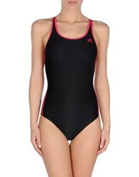 Adidas One Piece Suits Black