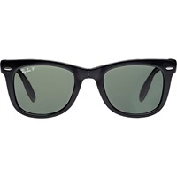 Folding Wayfarer Sunglasses Green