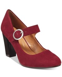 Styleandco. Style Co. Alabina Mary Jane Pumps Only At Macy's Women's Shoes Raisin Red