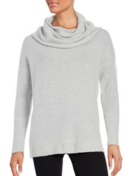 French Connection Flossy Cowlneck Sweater Dove Grey