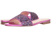 Kate Spade Madeline Purple Glitter Fuchsia Nappa Women's Shoes