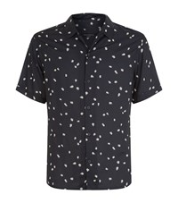 Allsaints Nauvoo Short Sleeve Shirt Male Black