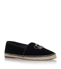 Dolce And Gabbana Crown Espadrilles Male Black