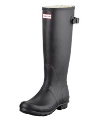 Flat Adjustable Matte Welly Hunter Boot
