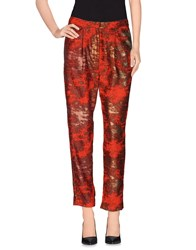 Pedro Del Hierro Trousers Casual Trousers Women Red