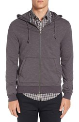 Original Penguin Men's Feeder Stripe Zip Hoodie