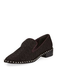 Adrianna Papell Prince Studded Leather Loafer Cordovan