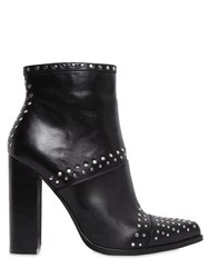 Windsor Smith 100Mm Acai Studded Leather Ankle Boots