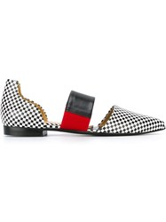 Toga Pulla Checked Loafers Black