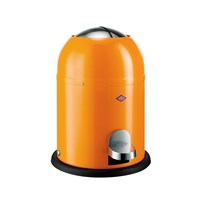 Wesco Single Master Bathroom Bin Orange