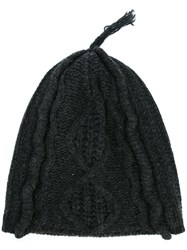 Golden Goose Deluxe Brand Knit Beanie Grey