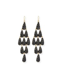 Ashley Pittman Densi Chandelier Horn Earrings Dark Horn