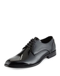 Kenneth Cole Re Rack Patent Lace Up Oxford Black