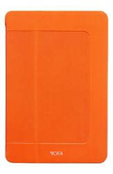 Tumi 'Prism' Leather Ipad Mini Case Orange Sunrise