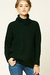 Forever 21 Boxy Turtle Neck Sweater