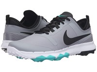 Nike Fi Impact 2 Stealth Clear Jade White Black Men's Golf Shoes Gray