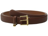 Lauren Ralph Lauren 1 Faux Stingray Belt Bourbon Women's Belts Brown