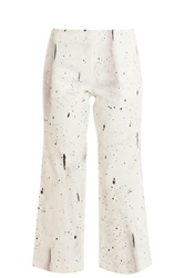 Opening Ceremony Banana Denim Trousers White