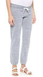 Monrow Maternity Vintage Sweats Dark Heather