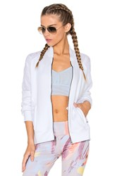Alo Yoga Tempt Jacket White