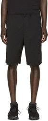 Alexander Wang Black Wool Shorts