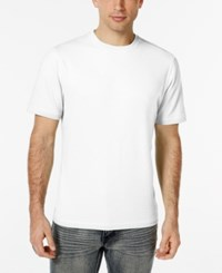 Tasso Elba Men's Big And Tall Performance T Shirt Only At Macy's White Pure