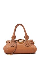 Wgaca Chloe Medium Paddington Bag Previously Owned Brown