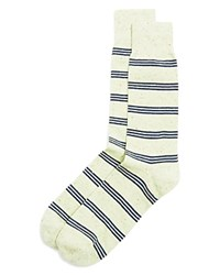 The Men's Store At Bloomingdale's Triple Stripe Dress Socks Lime