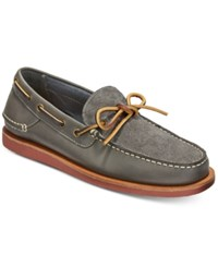 Tommy Hilfiger Men's Blythe Slip On Boat Shoes Men's Shoes Medium Gray