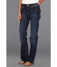Kut From The Kloth Natalie Bootleg In Vagos Vagos Wash Women's Jeans Blue