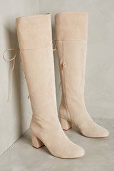 Anthropologie Farylrobin Emare Over The Knee Boots Neutral