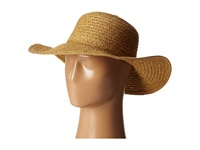 San Diego Hat Company Pbl3046 Sunbrim Hat W Lurex And Gold Dome Stud Trim Mixed Natural Caps Yellow