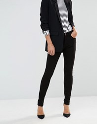 French Connection Rebound Skinny Jean Black