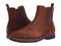 Frye Arden Chelsea Brown Oiled Suede Men's Pull On Boots