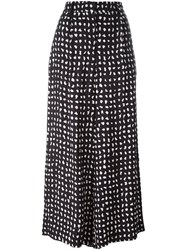 Christian Wijnants Polka Dot Wide Leg Trousers Black