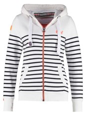 Superdry Tracksuit Top Optic Eclipse Navy White