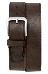 Shinola Men's Leather Belt Dark Coffee