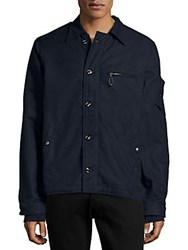 Cult Of Individuality Deck Jacket Blue