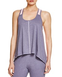 Jane And Bleecker New York Jane And Bleeker New York Handkerchief Hem Tank Blue