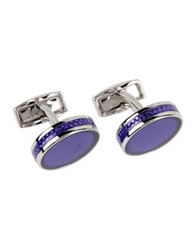 Tateossian Cuff Links Purple