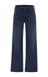 3X1 W2 Military Cropped Jeans Dark Wash