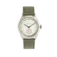 Bulova For J.Crew Air Warden Watch White