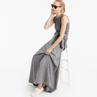 J.Crew Collection Maxi Skirt In Wool Flannel