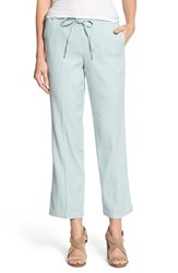 Women's Nydj 'Jamie' Relaxed Ankle Flared Pants Bluegrass