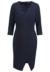 Kiomi Shift Dress Navy Blazer Dark Blue