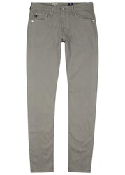 Ag Jeans The Stockton Grey Skinny Chinos