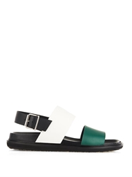 Marni Two Tone Leather Sandals